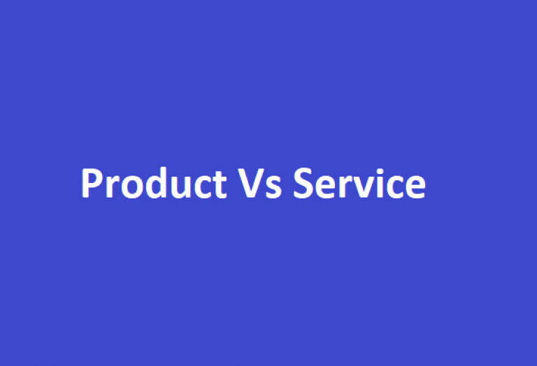 Difference between Product and Service based Company